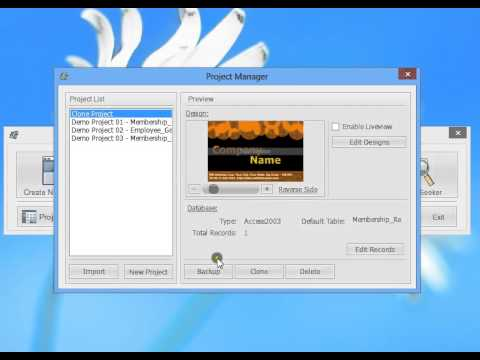 id card workshop video tutorial project manager youtube