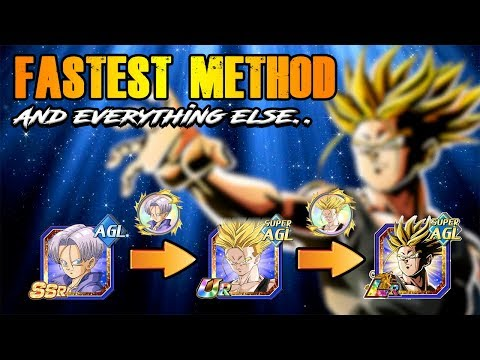 FASTEST METHOD TO GRIND OUT LR TRUNKS! AND EVERYTHING YOU NEED TO KNOW | DRAGON BALL Z DOKKAN BATTLE