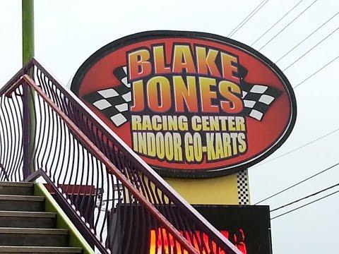 Pigeon Forge TN Attraction Blake Jones Indoor Go Karts
