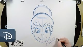 How To Draw Tinker Bell | Disney's Hollywood Studios