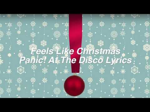Feels Like Christmas  Panic! At The Disco Lyrics