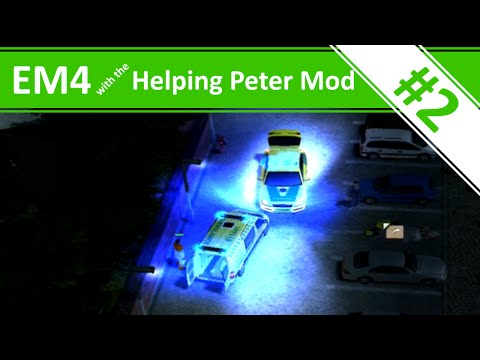 Nightshift with the Helping Peter Mod! - Ep.2 - Emergency 4 with the Helping Peter Mod