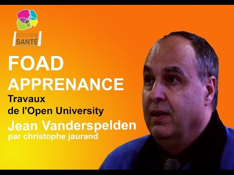 FOAD - APPRENANCE travaux de l'Open University Jean Vanderspelden / christophe jaurand