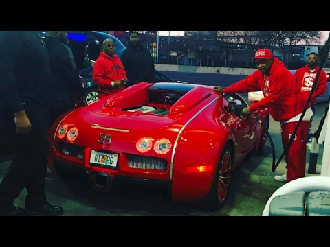 "Birdman ""Brings Out Big Toys At NBA All Star Weekend New Orleans"""