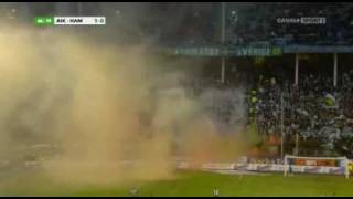 AIK - Hammarby (smoke)