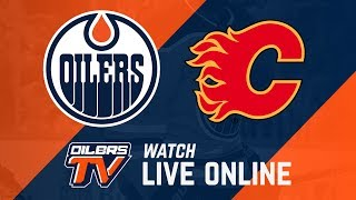 FULL GAME ARCHIVE   Oilers at Flames - 2018 Pre-Season