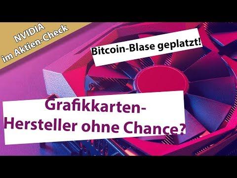 Ist NVIDIA nach dem Platzen der Bitcoin-Blase in Gefahr?