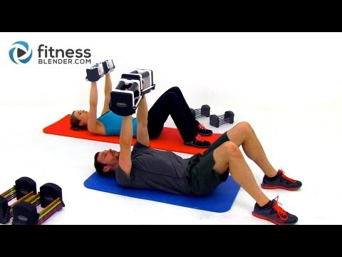 Upper Body Tabata Workout -- Intense 60 Minute Back, Shoulders, and Arms Workout