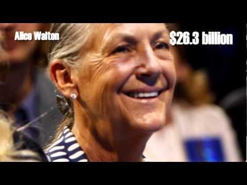 Top Richest Women in the World 2013