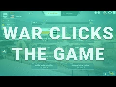 WAR CLICKS #1 - MULTIPLAYER IDLE GAME?