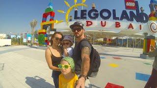Мелисса и Настя в Дубае Отель Atlantis Лего Лэнд аквапарк