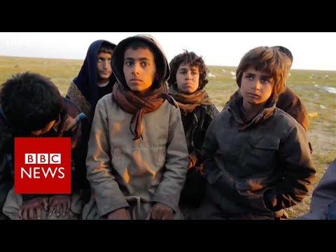 Witnessing the Islamic State exodus - BBC News