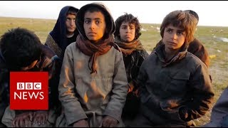 Witnessing the Islamic State exodus - BBC News