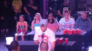 Backstreet Boys Cruise 2018- Brian Game Show Ping Pong Game 2