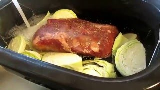 How to make corned beef brisket and Cabbage in your Rival roaster oven