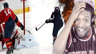 I'M A LEGIT HOCKEY FAN NOW!! MOST CREATIVE MOVES DURING A HOCKEY SHOOTOUT EVER REACTION!