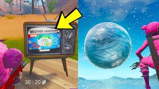 *NEW* Fortnite WEATHER EVENT HAPPENING RIGHT NOW! (Fortnite: Battle Royale) thumbnail