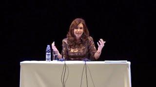 Palabras de Cristina Fernández de Kirchner en ND Ateneo - 20/04/2016