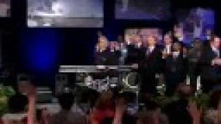 "Benny Hinn sings ""Jesus I Just Want To Thank You"""