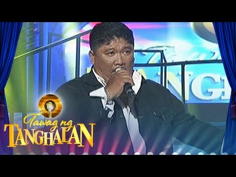"""Tawag ng Tanghalan: Dominador Aviola - """"I Can't Stop Loving You"""""""