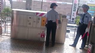 JR名古屋駅 さすが東海道新幹線のすごいところ!2分差で新横浜からのぞみがやってきて京都に向かう光景 しかもどちらも東京発新大阪行きの臨時のぞみです 到着&発車ベル+乗降終了合図