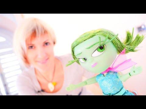 Николь и  Алиса распаковывают игрушки Головоломка (на русском языке) inside out
