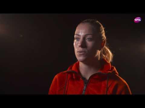 Angelique Kerber | 2017 Porsche Tennis Grand Prix | Pre-Tournament Interview