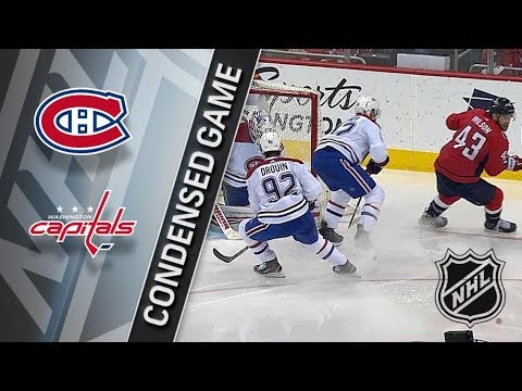 Montreal Canadiens vs Washington Capitals – Jan. 19, 2018 | Game Highlights | NHL 2017/18.Обзор игры