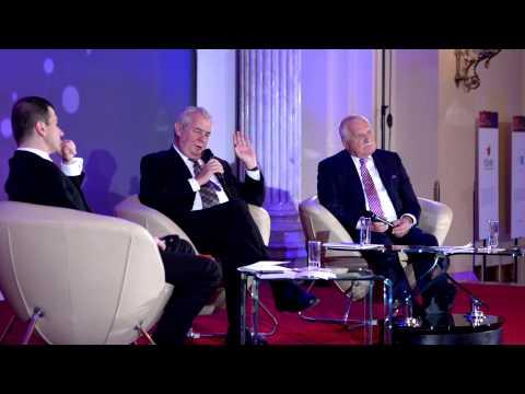 Miloš Zeman a Václav Klaus o české cestě ekonomické transformace