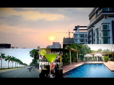 My Work Day in Phnom Penh City | Rooftop Skybar at Boeung Keng Kong