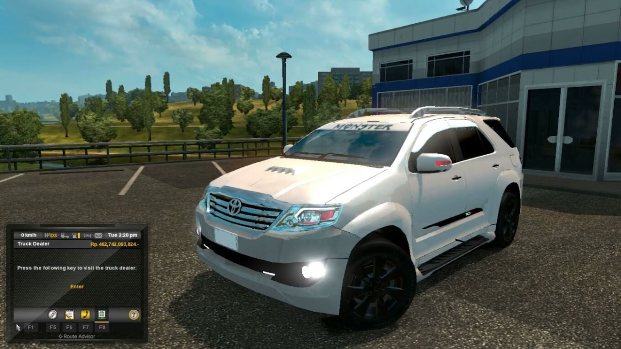 Fortuner 2012 Euro Trucks Simulator 2 Youtube