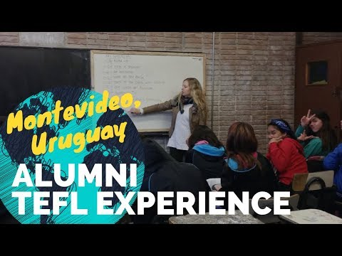Adria Baebler, Montevideo, Uruguay English teaching: International TEFL Academy