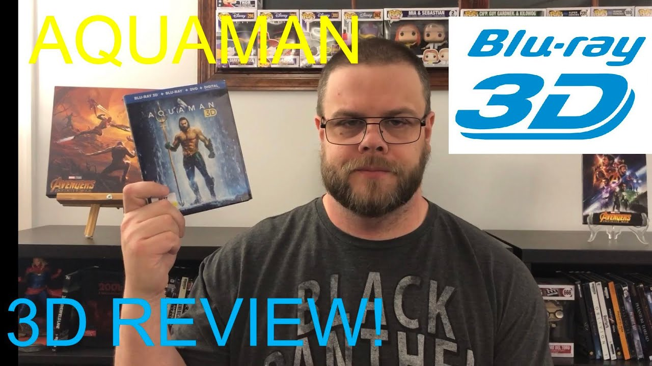 """""""AQUAMAN"""" (2018) 3D Review!"""