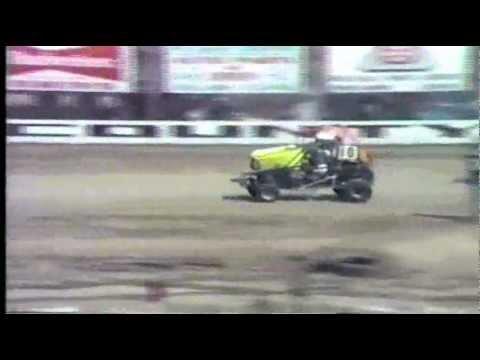 1985 Creek County Speedway Honda Odyssey heat race in sapulpa oklahoma. brent bates #6