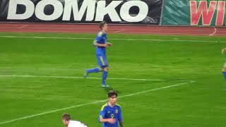 Данило Сікан забиває за збірну України (U-17)