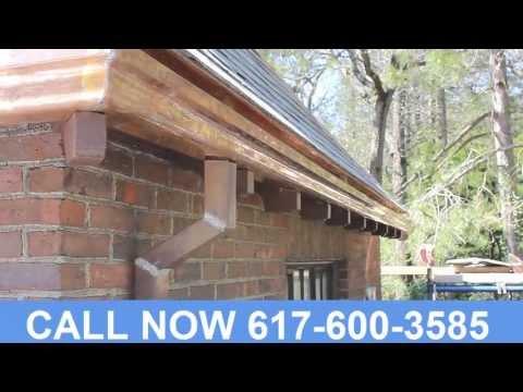 Custom Copper Gutters Suffolk County MA  (617) 600-3585