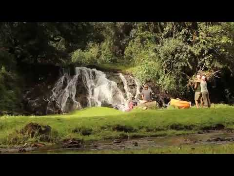 Waterfall in Arusha National Park