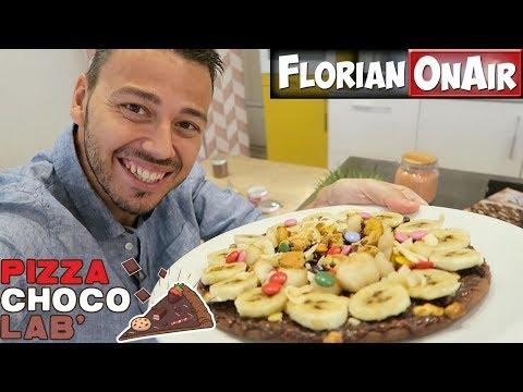 Je customise une PIZZA au CHOCOLAT - VLOG #487