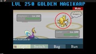 (Roblox) LVL 250 GOLDEN MAGIKARP (Project Pokemon)