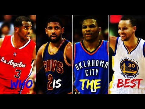 WHO IS THE BEST  Steph Curry CP3 Kyrie Irving