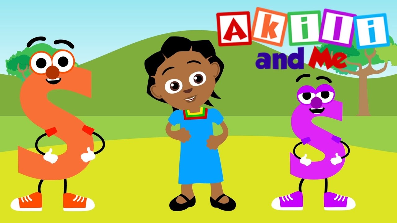 The Letter S Song   Educational phonics song from Akili and Me, African Animation!