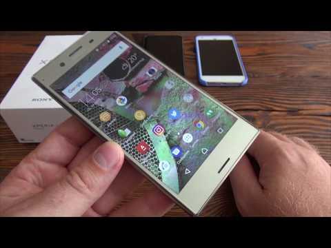 Sony XZ Premium. Подробный обзор.