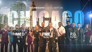 NBC Chicago Wednesdays 2018 Fall Promo - Chicago Med, Chicago Fire, Chicago P.D. #2