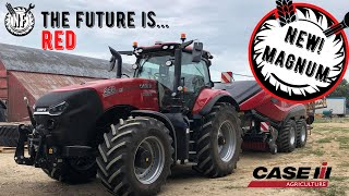 NEW! CASE MAGNUM AFS CONNECT!!! | NEW! CASE BALER! | WALK AROUND AND TEST + SEE IT IN ACTION!