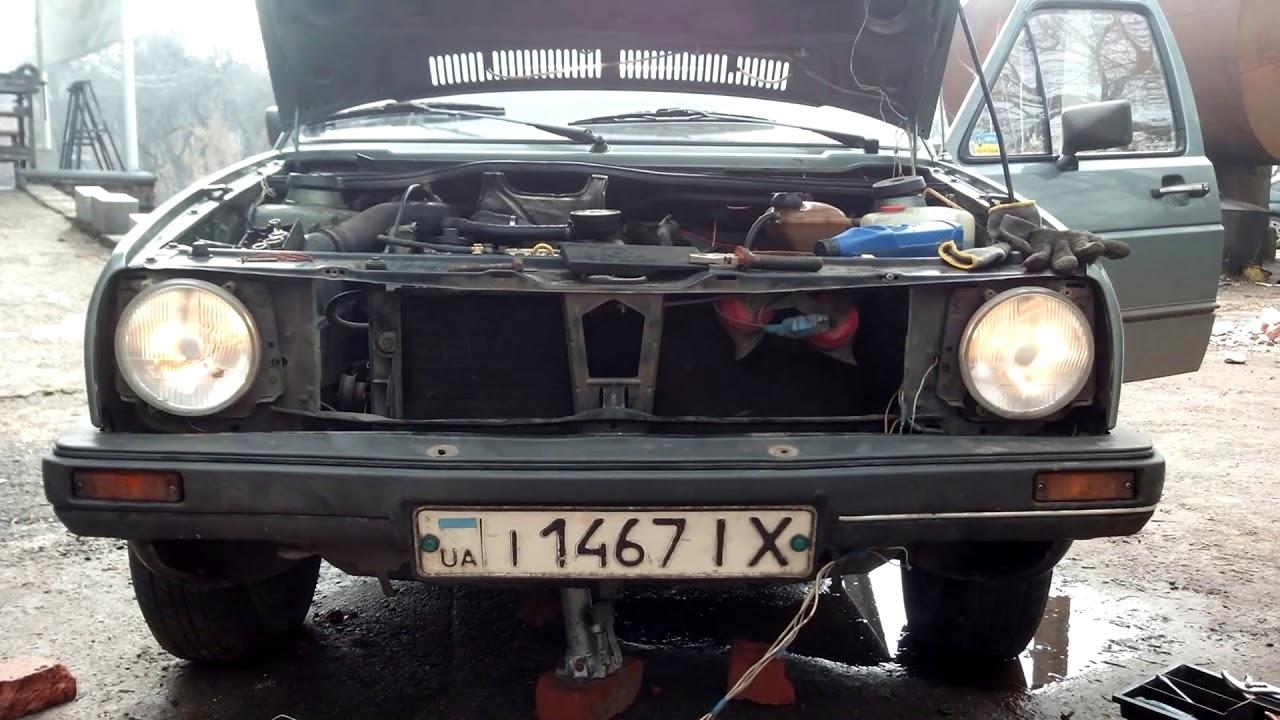 VW golf 2-восстанавливаем свет фар.ремонт галогенок