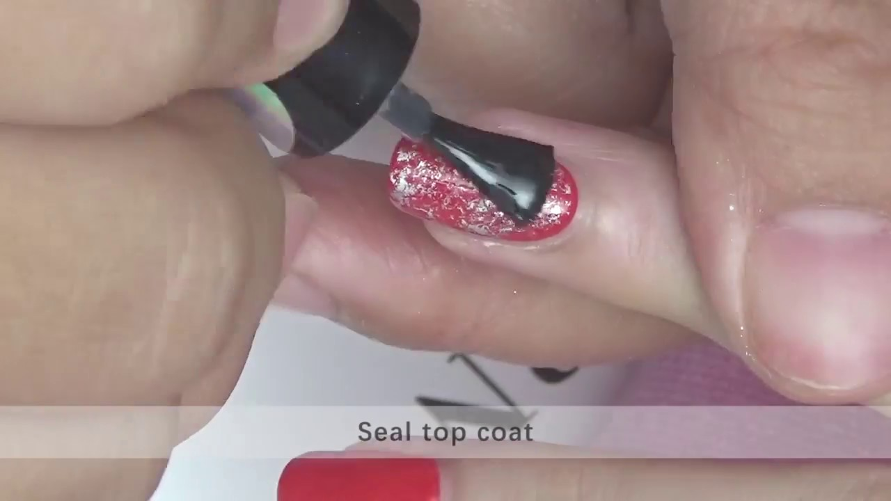 Holographic Nail Foil Tutorial - YouTube
