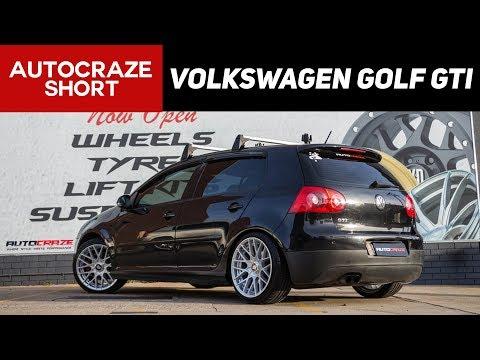 RIOT CONTROL SHORT // Volkswagen Golf GTI // Rotiform RSE - Silver Finish | AutoCraze 2017