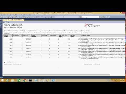 Quick SQL Server Performance Analysis Using Performance Dashboard