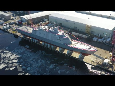 LCS 19 Christening and Launch