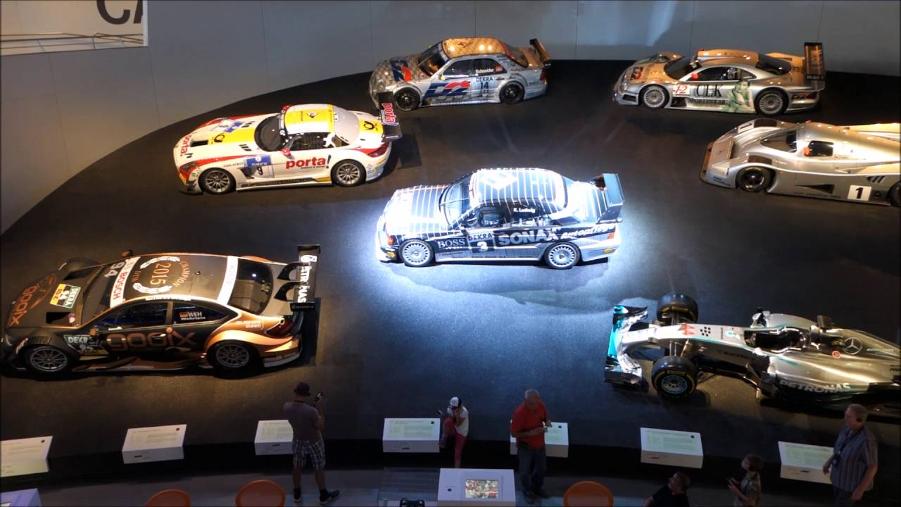 Mercedes benz museum stuttgart youtube for Mercedes benz museum
